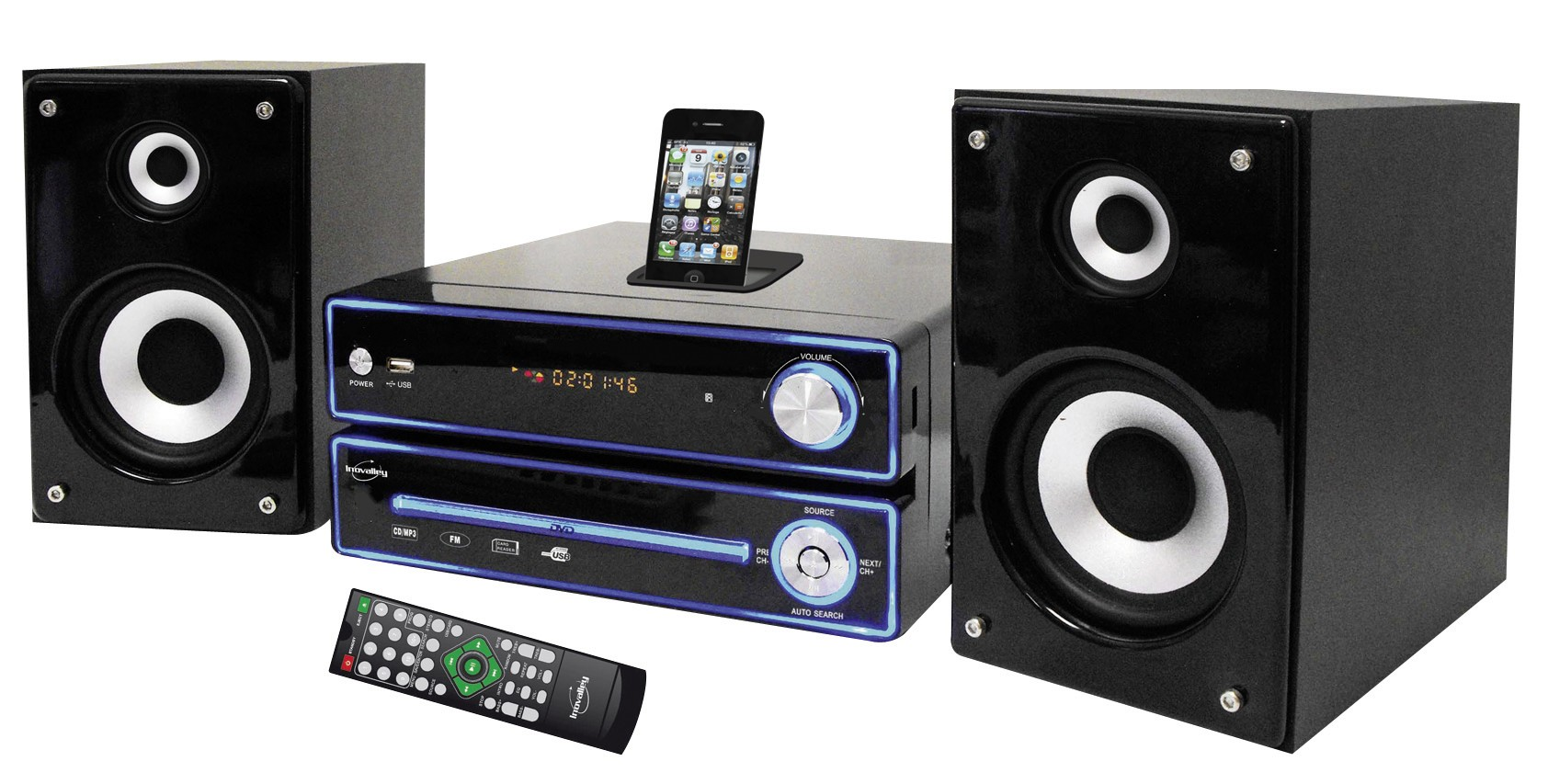 chaine hifi docking station est vendu pour 93 56. Black Bedroom Furniture Sets. Home Design Ideas